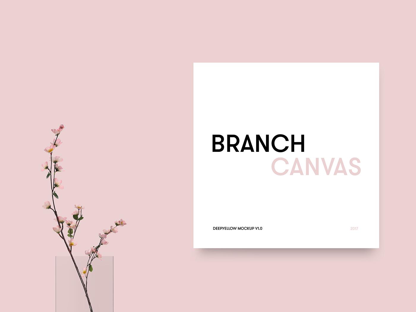 Branch Canvas Mockup