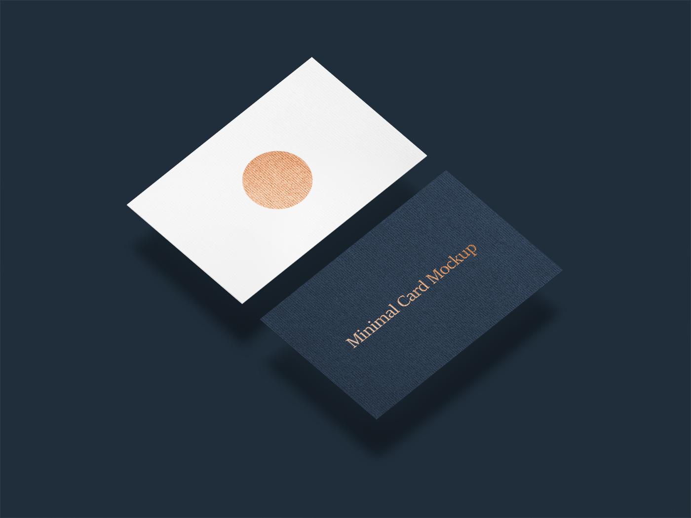 Minimal Card Mockup