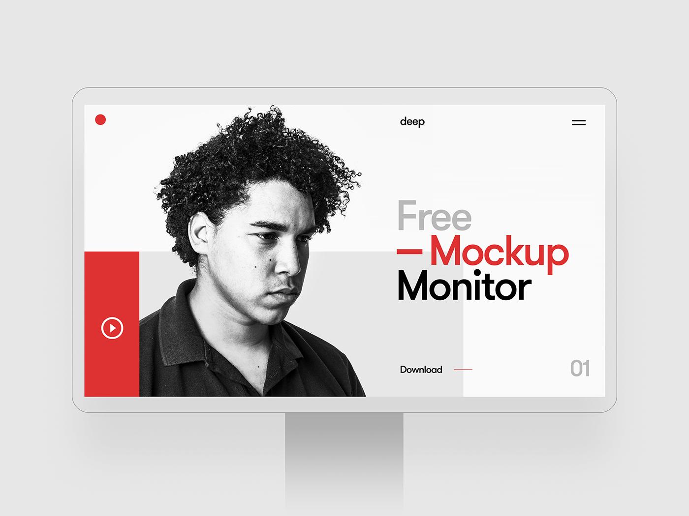 Monitor Mockup 01